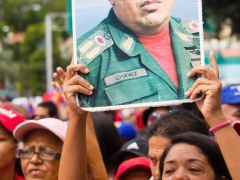 Mobilization in defense of constitutional President Nicolás Maduro 1